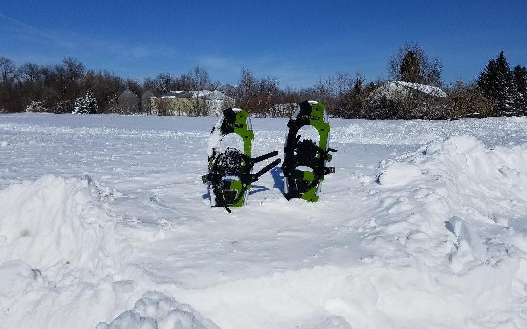North Dakota Snowshoeing Freedom